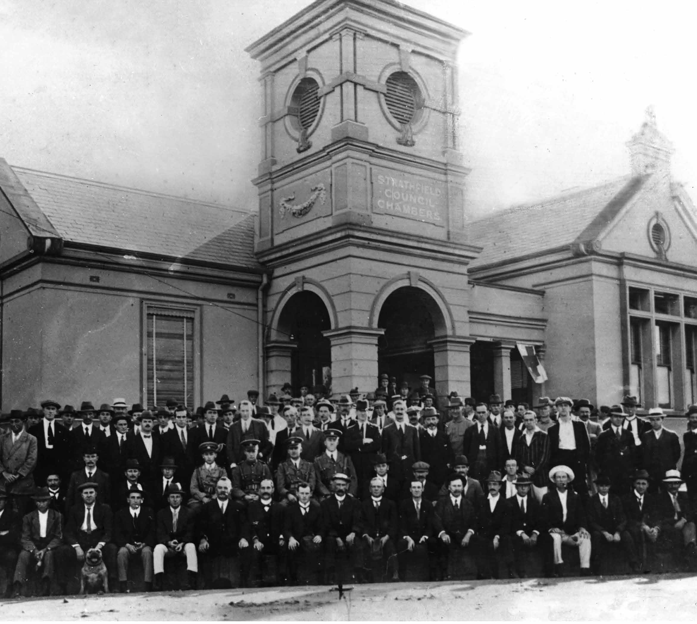 Exhibition Strathfield Answers the Call 1914-1918